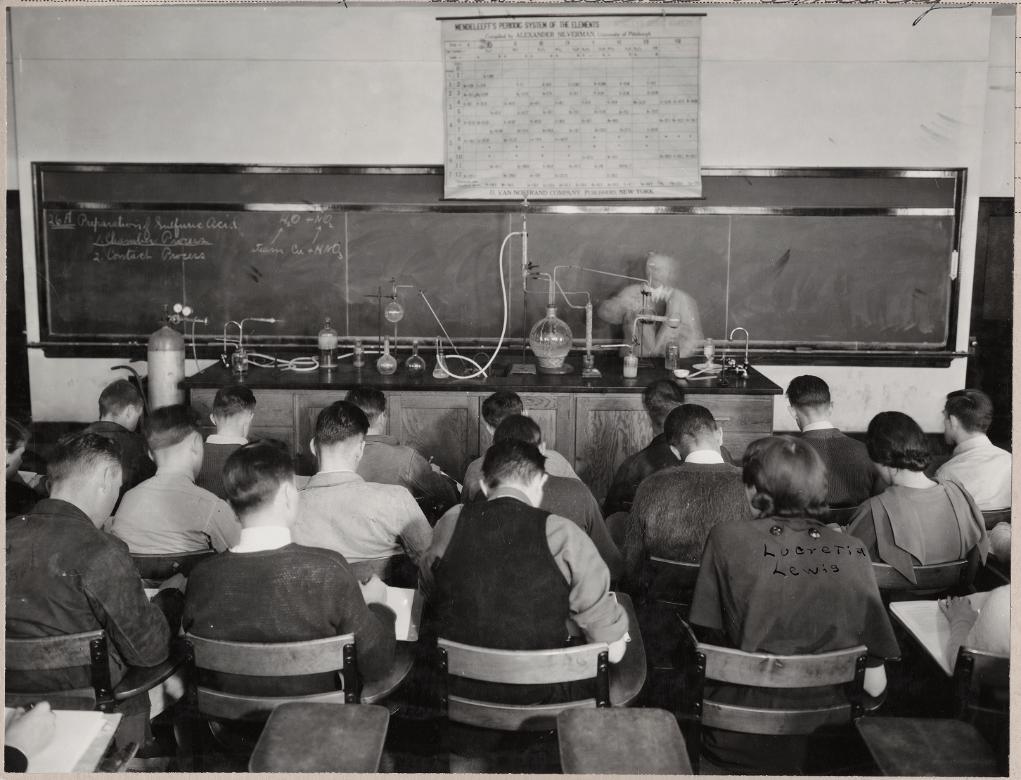 major-coffin-lecturing-feb-12-1935