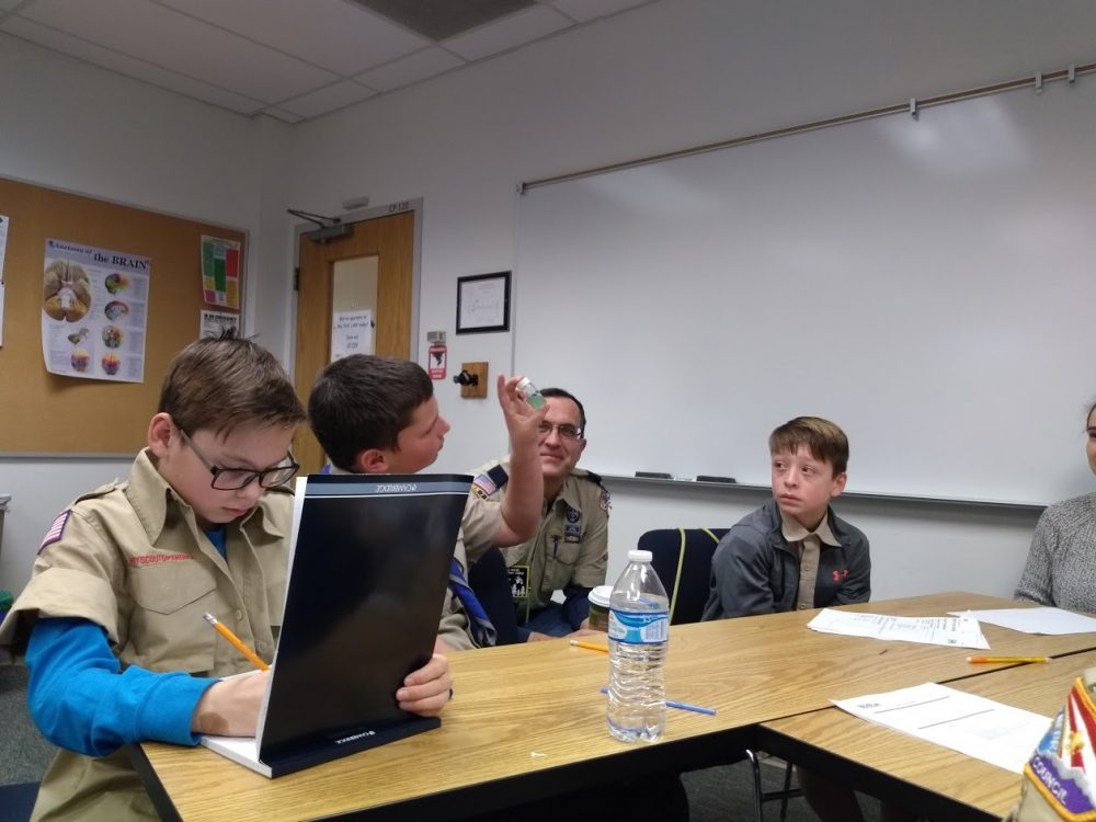 CGSO Outreach with Boy Scouts